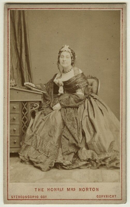 Photograph of Caroline Elizabeth Sarah Norton