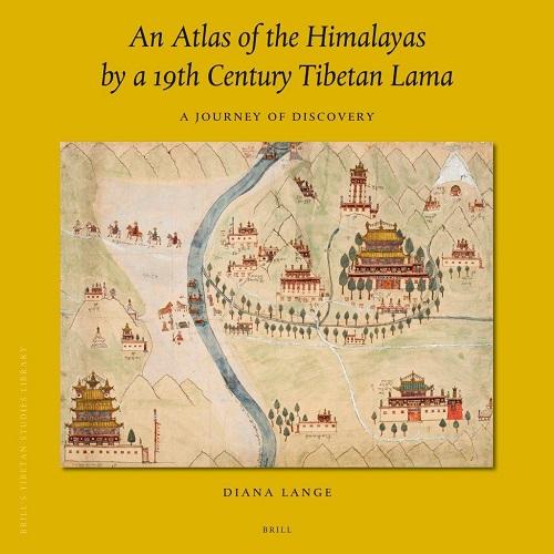 Diana Lange  An atlas of the Himalayas cover