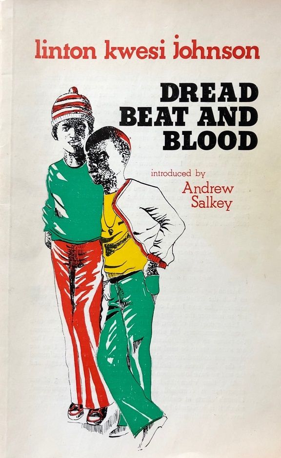 The front cover of the book Dread Beat and Blood