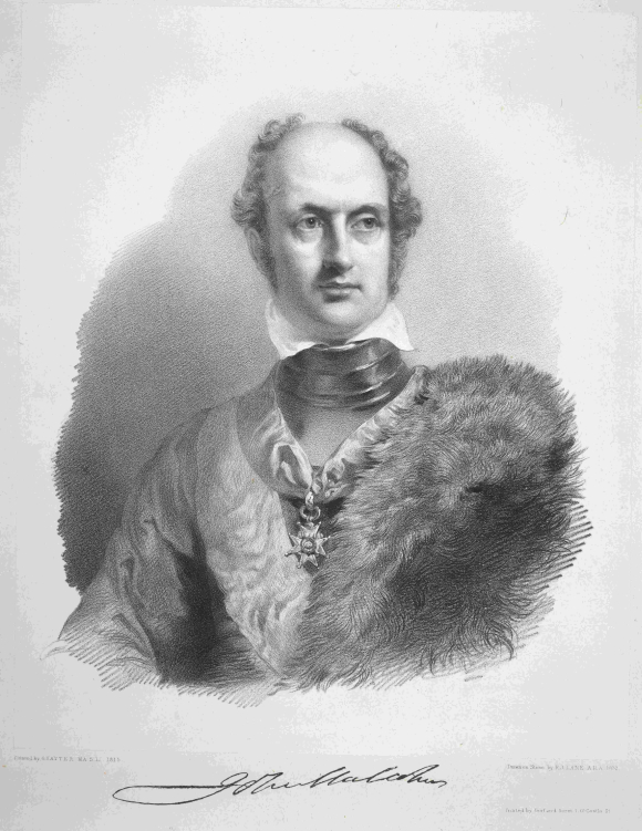 Portrait of Sir John Malcolm