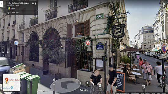 Screenshot taken from StreetView