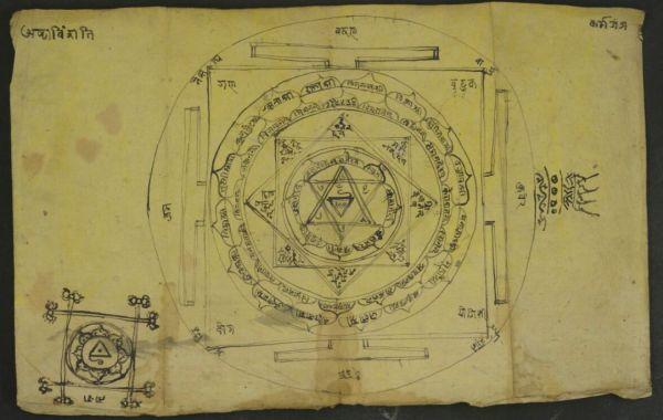 Yantra diagram