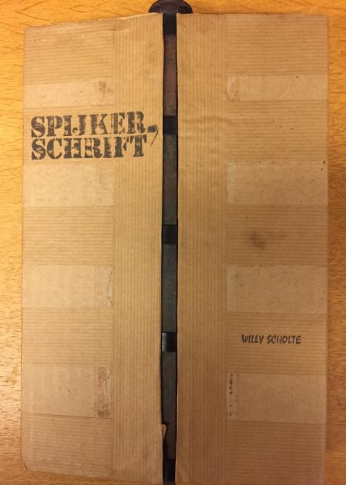 Front cover of Spijker-schrift