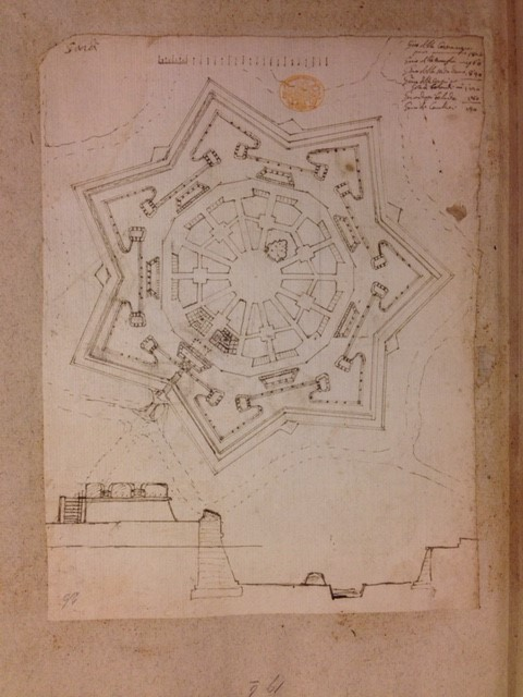 Map of fort