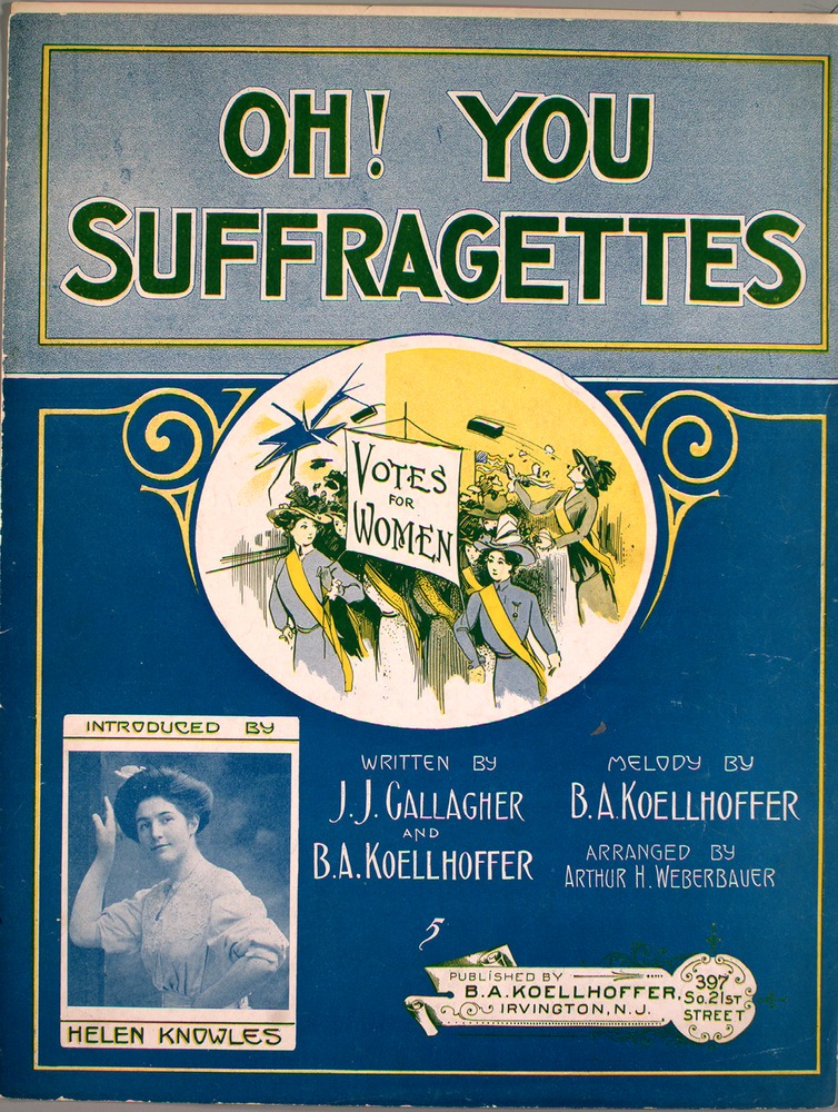 Oh you suffragettes