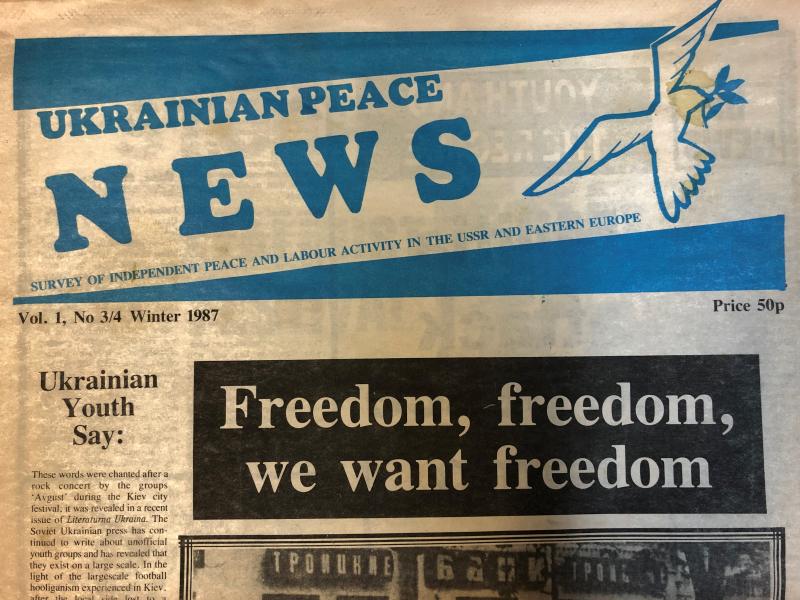 Ukrainian Peace News no 3 and 4