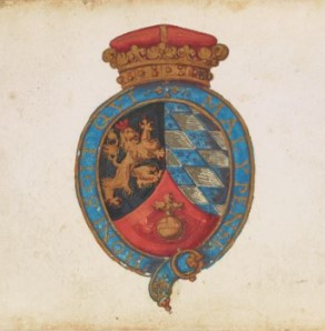 The Arms of Frederick V,  Elector Palatine of the Rhine