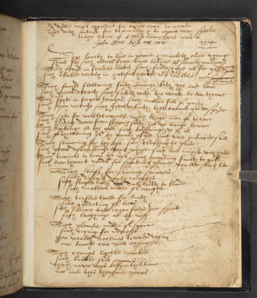 Photograph of Add MS 15225 f. 56