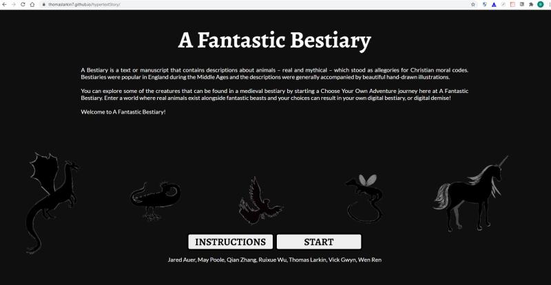 Fantastic-beastiary