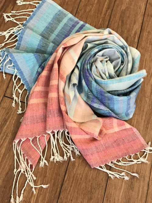 Climate Stripes Scarf from Tammam