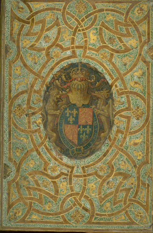 Front cover of Jan Christoval Calvete de Estrella, El Felicissimo viaie d'el ... with decorative bindings