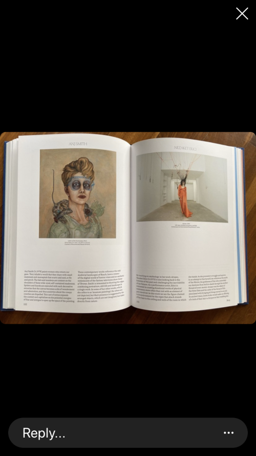 Image of an open book. It shows portraits of woman on both pages