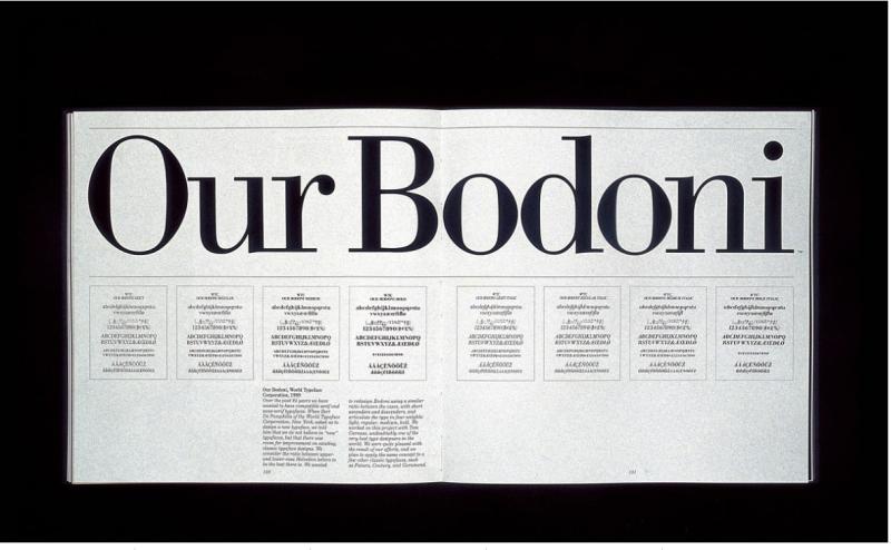 Vignelli - Our Bodoni (1)