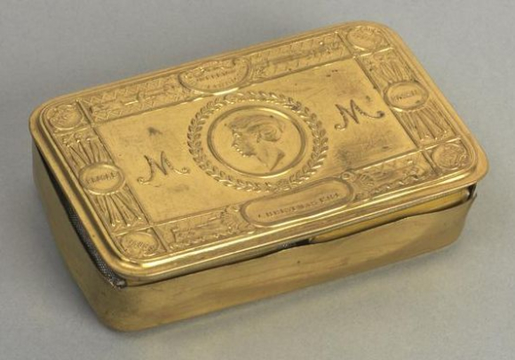 Princess Mary's Christmas Gift Box 1914 now in Imperial War Museum