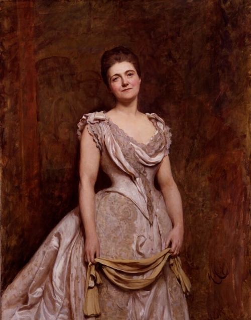 Portrait of Emilia Dilke