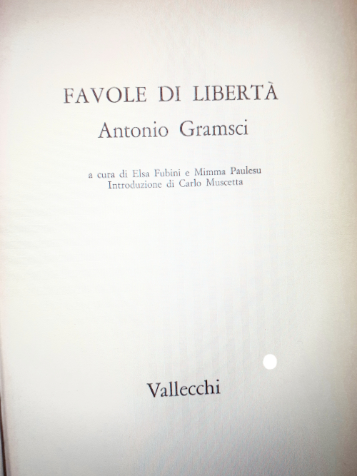 Cover of Favole di liberta