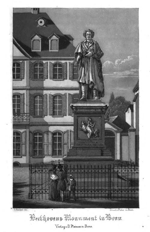 Beethoven's monument in Bonn