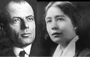 Photographs of Sylvia Pankhurst and Silvio Corio