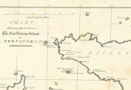 Chart of Fernandea