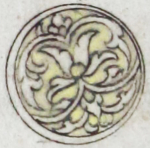 Illuminated marginal medallion indicating the start of a new juz'-EAP1020-5-1.58-juz-a