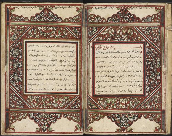 Hikayat Nabi Yusuf, 'The Story of the Prophet Joseph', copied in Perlis in 1802 by Muhammad Lebai-Mss_malay_d_4-ff.3v-4r