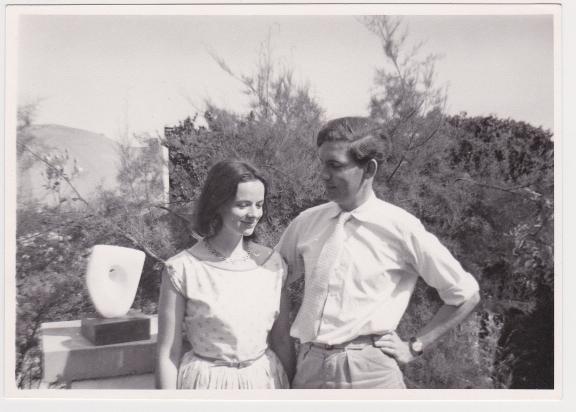 Alan and Sarah Bowness