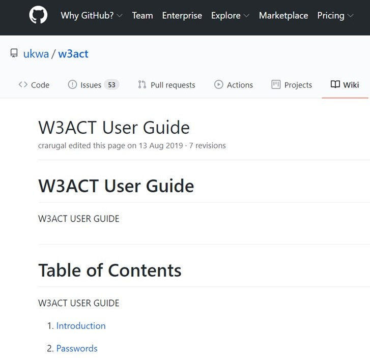 W3ACT_Documentation_GitHub
