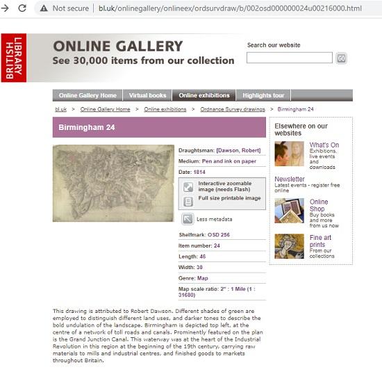 Online Gallery Maps OSD 256 screenshot