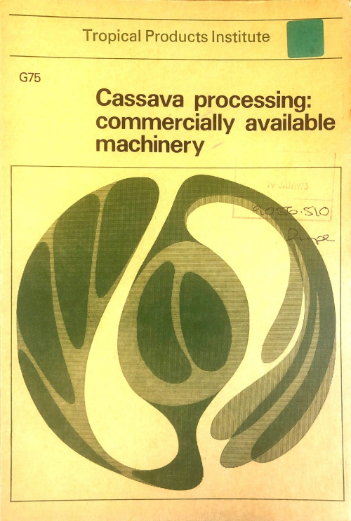 Front cover of pamphlet