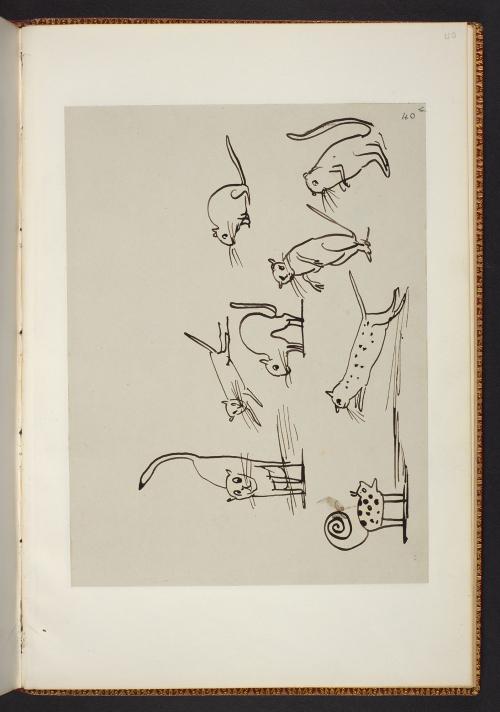 Edward Lear's Nonsense Manuscript (February 1885) Copyright  Estate of Edward Lear