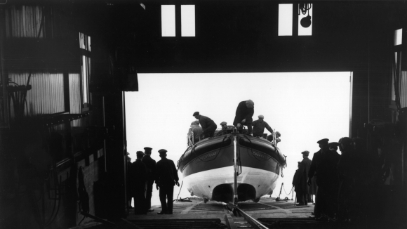 Photograph of lifeboat station