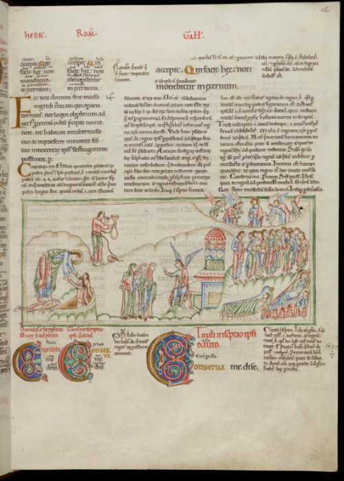 A page from the Eadwine Psalter