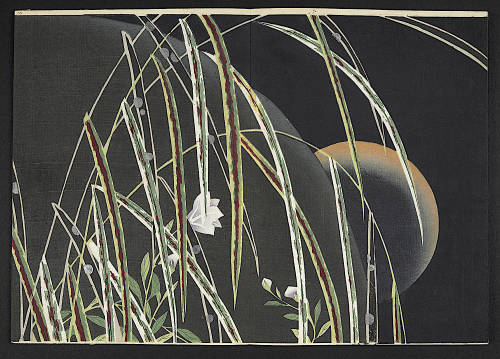 'Dew on the plains of Musashi' by Mizuta Shizuhiro from Sono no kaori 'Scents of the Garden'