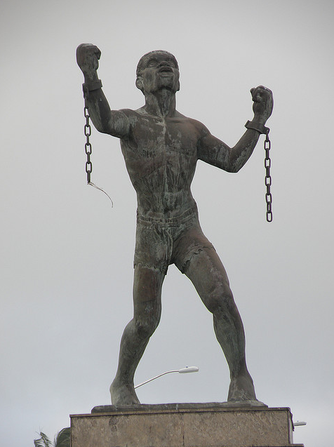 Emancipation Statue in Barbados