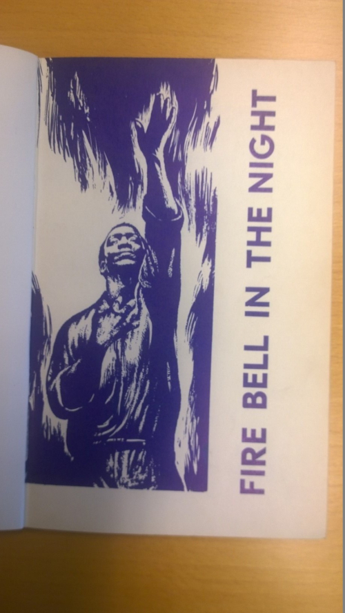 Image of front cover of Fire Bell in the Night