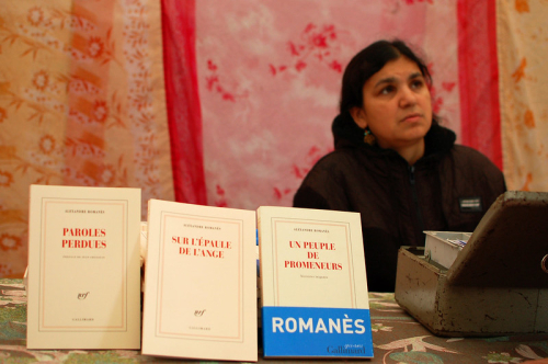 Photograph of books for sale by Alexandre Romanès