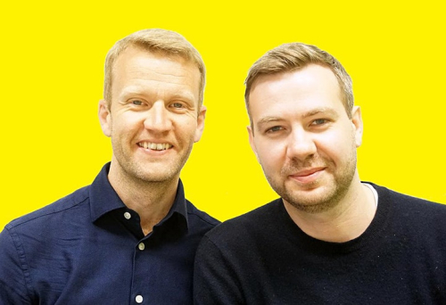 Image of Story Cube founders Michael Murdoch and Robbie Dale