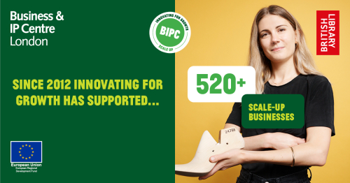 Since 2012, we've supported over 520 businesses