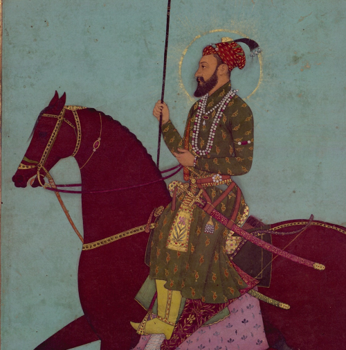 Fig. 1. Equestrian portrait of Aurangzeb