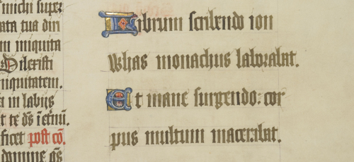 Colophon of John Whas the scribe