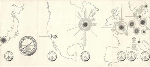Spatial Poem No.2, a fluxatlas, Chieko Shiomi, 1966