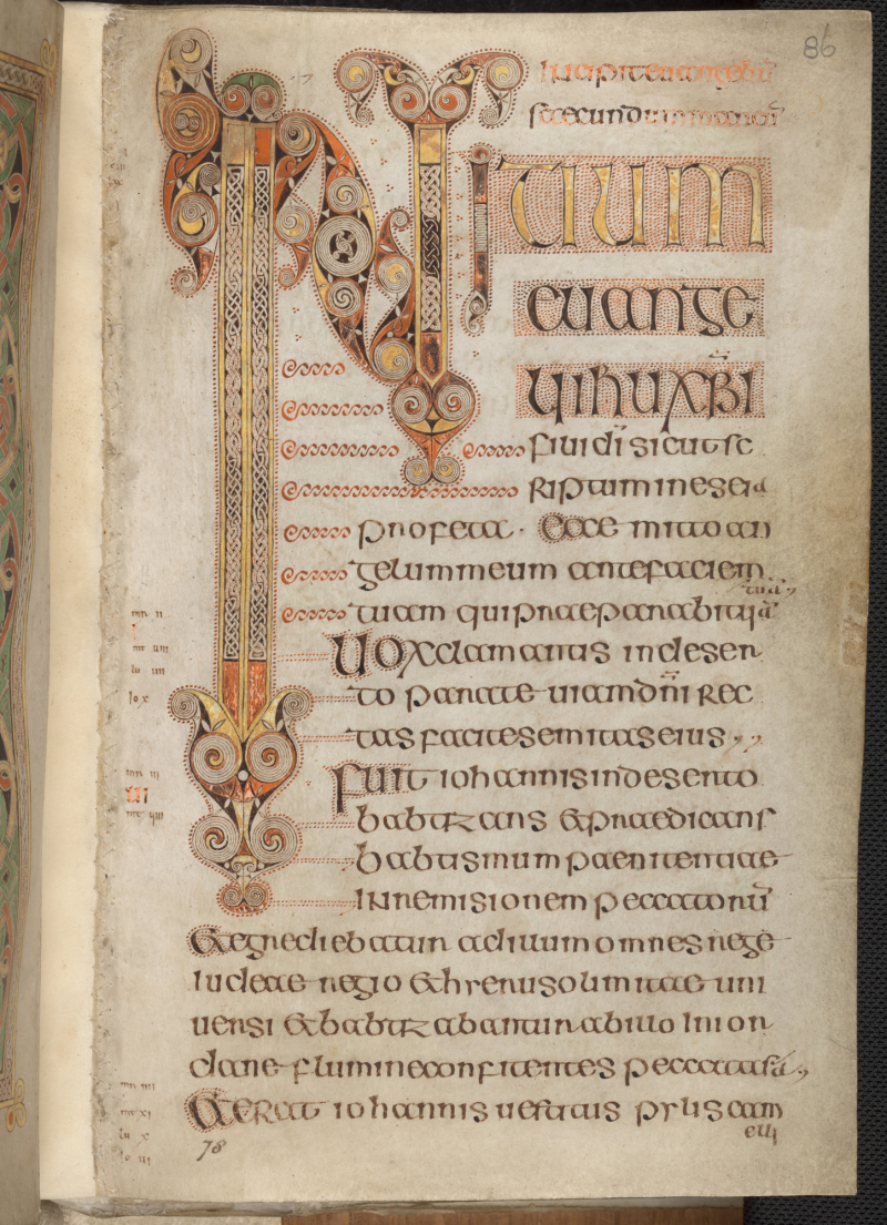Book of durrow tcd ms 57 f86r