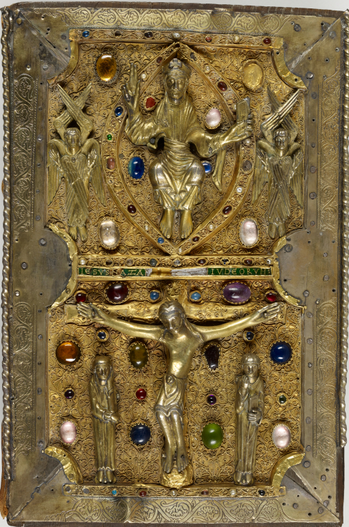 The treasure binding of the Judith of Flanders Gospels