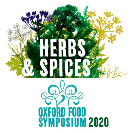 Herbs and Spices - logo for the Oxford Food Symposium 2020