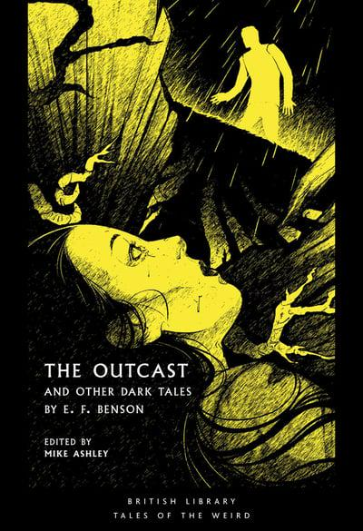 Photograph of front cover of the Outcast and Other Dark Stories, edited by Mike Ashley