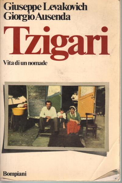 Cover of Tzigari: vita di un nomade