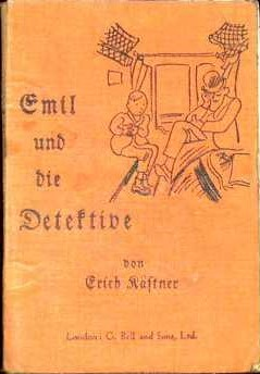 Cover of the 1933 edition of Emil und die Detektive