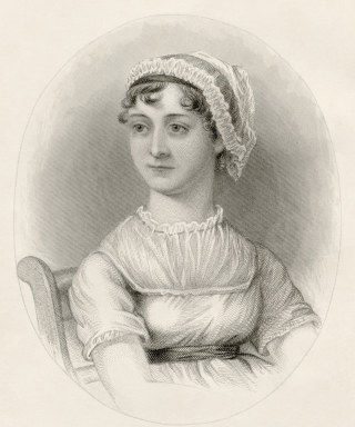 Portrait of Jane Austen produced for the Memoir by James Edward Austen Leigh