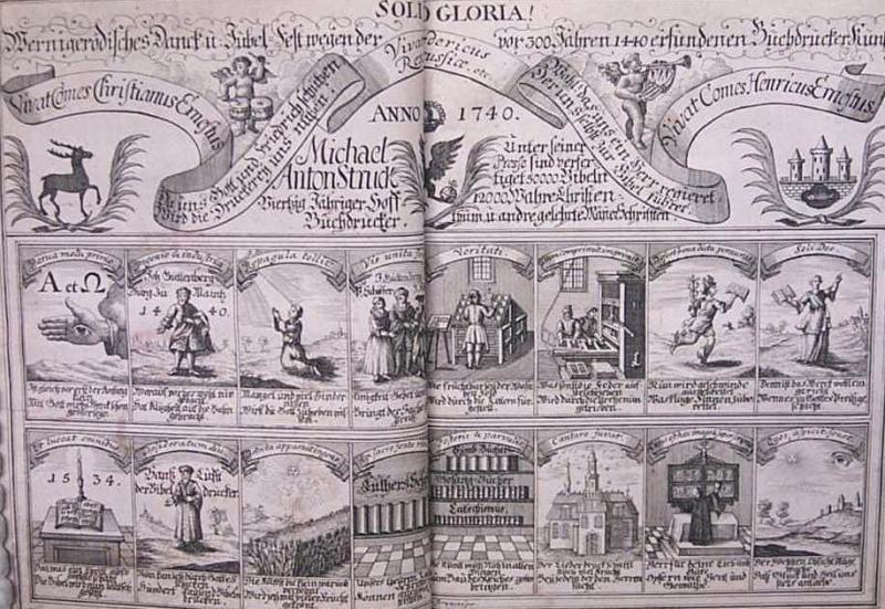 Gutenberg 18th cent