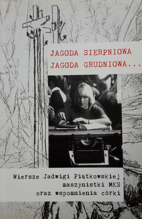 Cover of a book on Jadwiga Piątkowska with her photograph